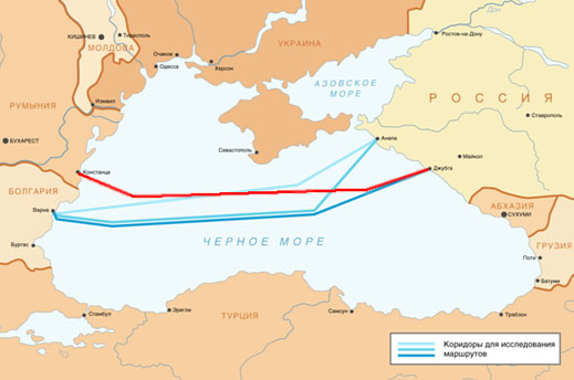 DOWN WITH THE TURKS, UP WITH THE ROMANIANS – GAZPROM THINKS OF