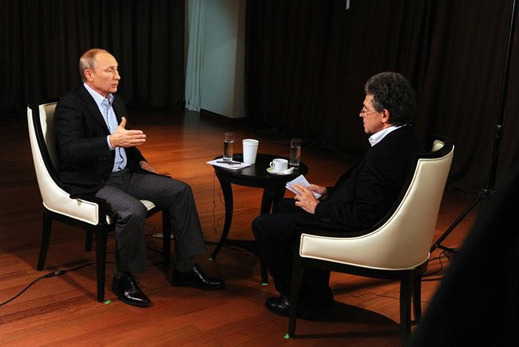 Interview Putin