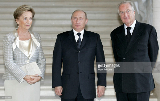 Putin visits King Albert