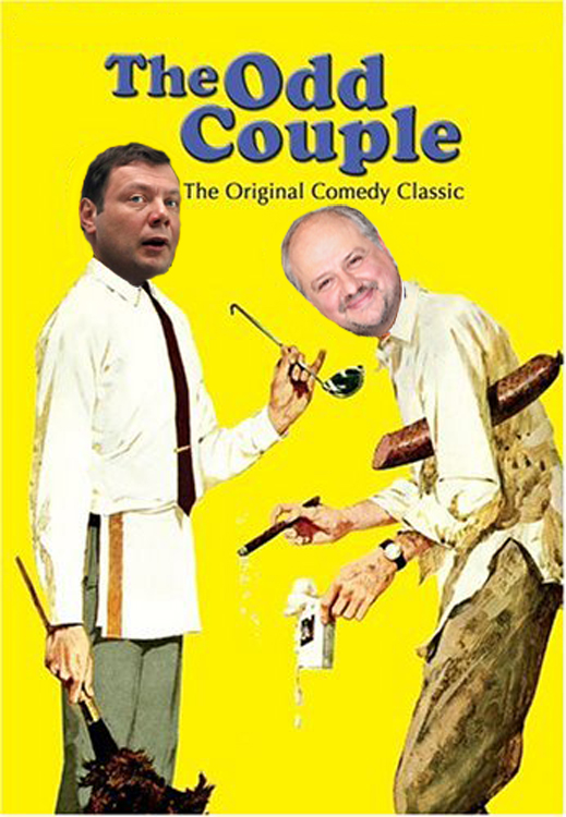 MIKHAIL FRIDMAN AND GREGORY SHENKMAN – THE ODD COUPLE AT WORK