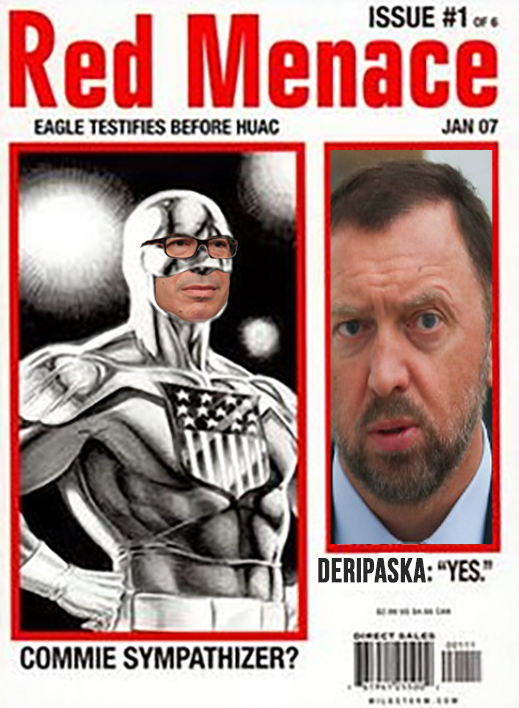 OLEG DERIPASKA APPEALS  TO THE US CONSTITUTION TO SAVE HIM FROM THE RUSSIAN COMMUNIST PARTY AND ITS US TREASURY AGENTS