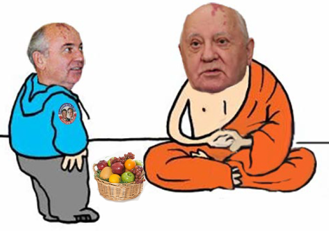 WHEN THE FRUIT FELL IN THE BASKET – WHAT CAN BE LEARNED NOW FROM MIKHAIL GORBACHEV, THE MAN WHO LEARNED NOTHING