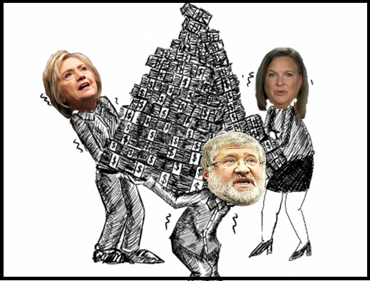THE KOLOMOISKY PYRAMID STARTED WITH HILLARY CLINTON AND VICTORIA